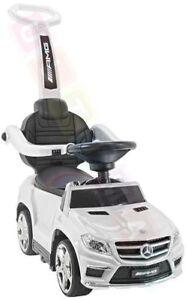 4in1 Mercedes-benz Gl63 Amg Lizenz Rutscher Kinderauto Rutschfahrzeug Weiß Online Shop Spielzeug