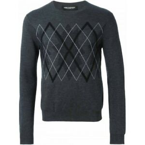 Barrett £ de oscuro de 00 Rrp estilo jersey 395 merino lana de merino gris lana Suéter Neil qR7xA6CwC