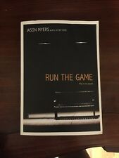 Run the Game by Jason Myers Paperback Book (English)