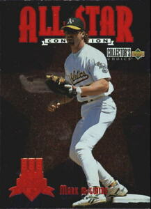 Details About 1997 Collectors Choice All Star Connection Baseball Card Pick