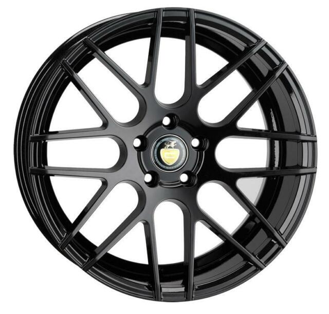 "18"" CADES ARTEMIS MATT BLACK ALLOY WHEELS ONLY BRAND NEW 5X120 ET35 RIMS"