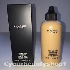 New Mac Face and Body Foundation C5 120ml 100 % Authentic
