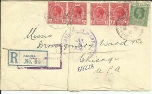 Gold-Coast-SG-72-x4-71-ACCRA-6-JUN-1919-Registered-label-commercial-use