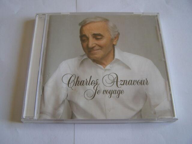 cd charles aznavour: je voyage