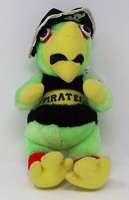 """Sport Offen Selten Pittsburgh Pirates 1993 Papagei Plüsch Maskottchen 13 """" Hoch Mit Mlb Tags Um Sowohl Die QualitäT Der ZäHigkeit Als Auch Der HäRte Zu Haben"""