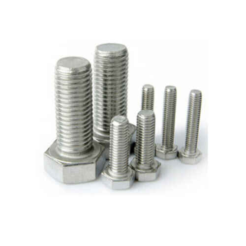 M6 M8 HEX BOLTS A2 Stainless Steel Hexagon Head Fully Threaded Set Screws DIN933