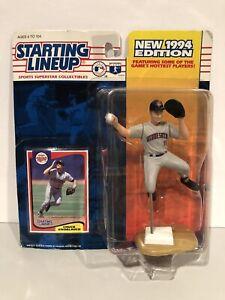 CHUCK KNOBLAUCH Minnesota Twins Baseball 1994 Starting Lineup Figure & Card NEW!