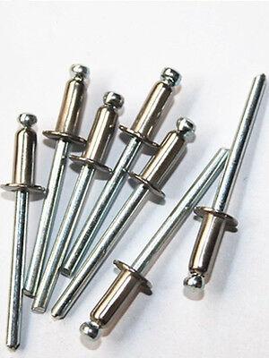 10pcs-100pcs POP Rivets ALL Stainless Steel M4*8 M4*9 M4*10 M4*13 Grip #Z9 ZY
