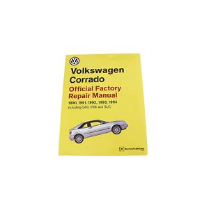 bentley repair guide service manual for volkswagen vw corrado ebay rh ebay com Volkswagen Vanagon Volkswagen Vanagon