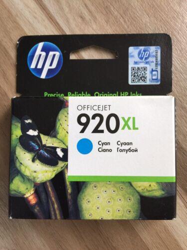 1 von 1 - Original Hp 920 xl Cyan Hp CD972A Hp officejet 6000 6500 7000 6500a 7500a 920xl