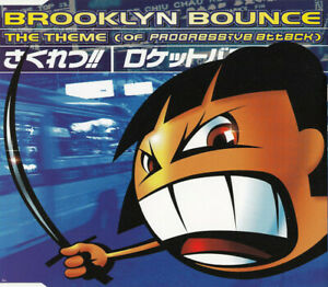 Brooklyn-Bounce-Maxi-CD-The-Theme-Of-Progressive-Attack-Europe-VG-VG
