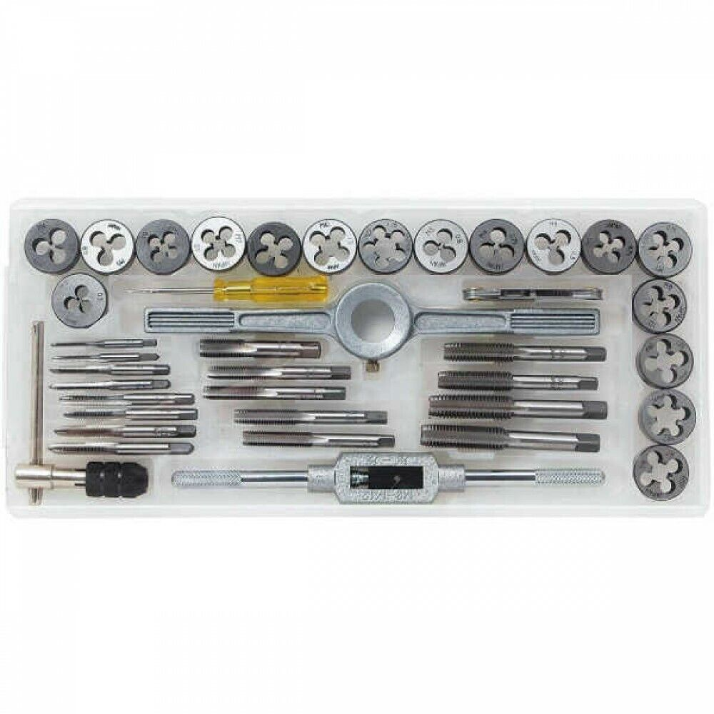 E-Value EV-40TD Tap and Die Set of 40 Pieces and Storage Case Japan Tracking