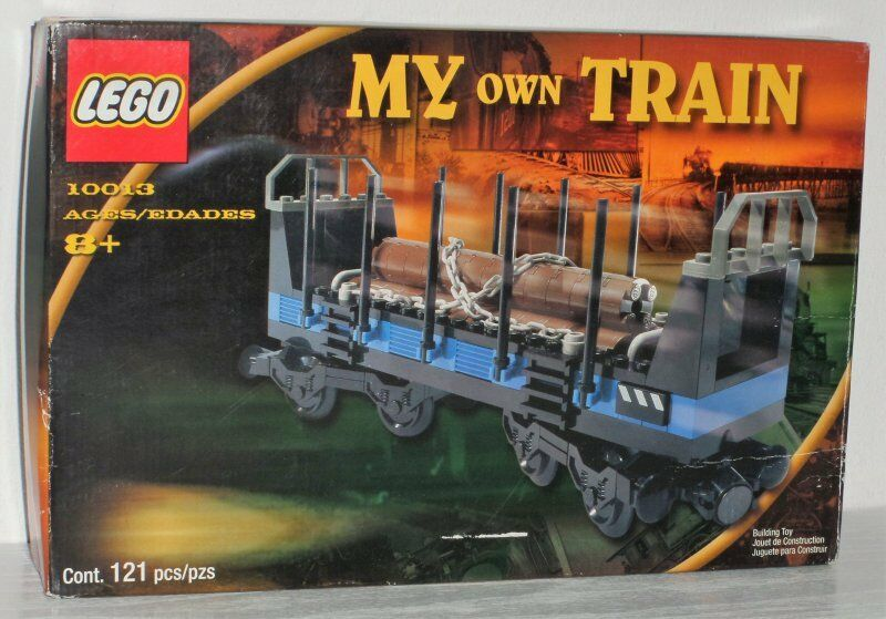 Lego Train Open Freight Wagon 10013 neu new