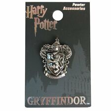 Harry Potter New * Gryffindor Crest * Pewter Lapel Pin Accessory Charm Pin Back