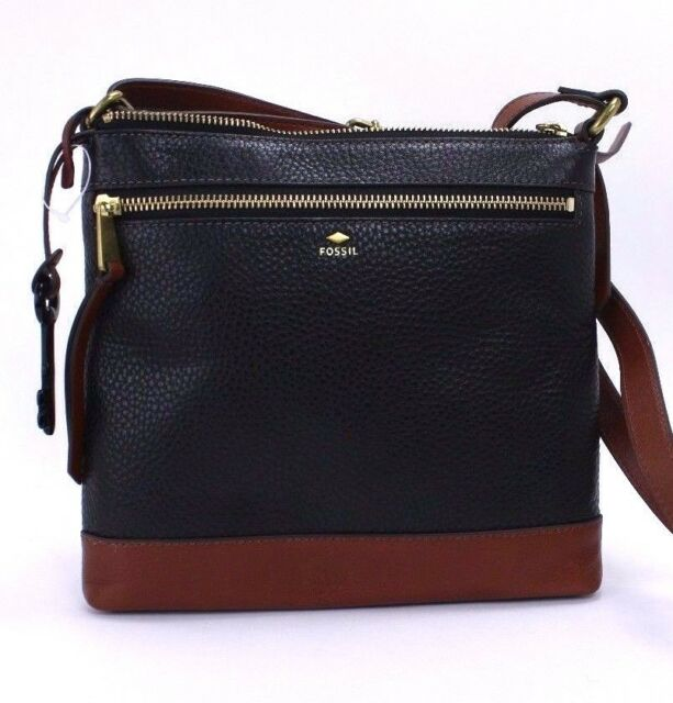 Fossil New Mother S Day Collection Crossbody Bag Msrp 128 Black