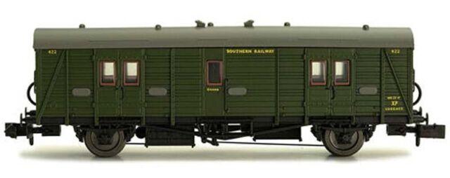 Dapol Maunsell SR Brake Van Lined Green 442 N Gauge DA2P-012-203