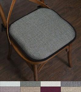 Cameron Memory Foam Non Slip Chair, Memory Foam Chair Pads With Ties