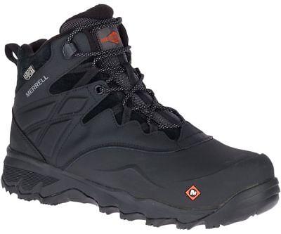 Merrell Men/'s J17555 Side Zip Composite Toe Waterproof Safety Tactical Boots