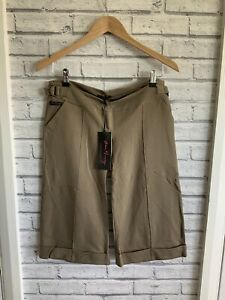 Home-Mummy-London-Khaki-Size-M-Ladies-Maternity-Shorts