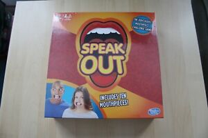 Speak-Out-Board-Game-by-Hasbro-with-Mouthpiece-10-Mouthpieces-Included-New