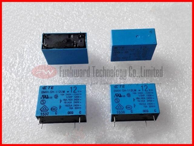 LZ-12H-K 12VDC Power Relay 4A 240VAC 5 Pins x 10PCS NEW
