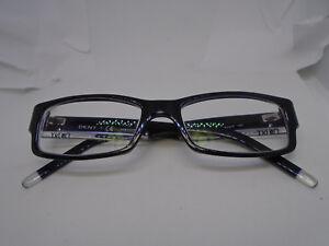 4d1d1fd1e9ea DKNY Eyeglasses DY4602 3001 Black Crystal 51-17-140 Plastic Rx ...