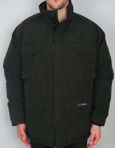 Vintage-Canada-Goose-CONSTABLE-Black-Men-039-s-Down-Parka-Jacket-Coat-XL