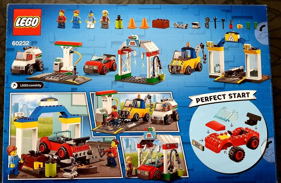 Lego City, LEGO 4+ City 60232