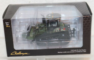 Speccast-Challenger-MT865E-Tracked-Tractor-Green-Camo-1-64-Scale-NEW