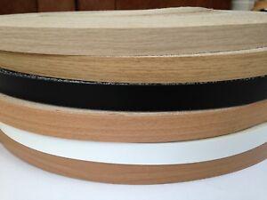 Beech Iron on Melamine Edging Veneer Tape 19mm /& 22mm