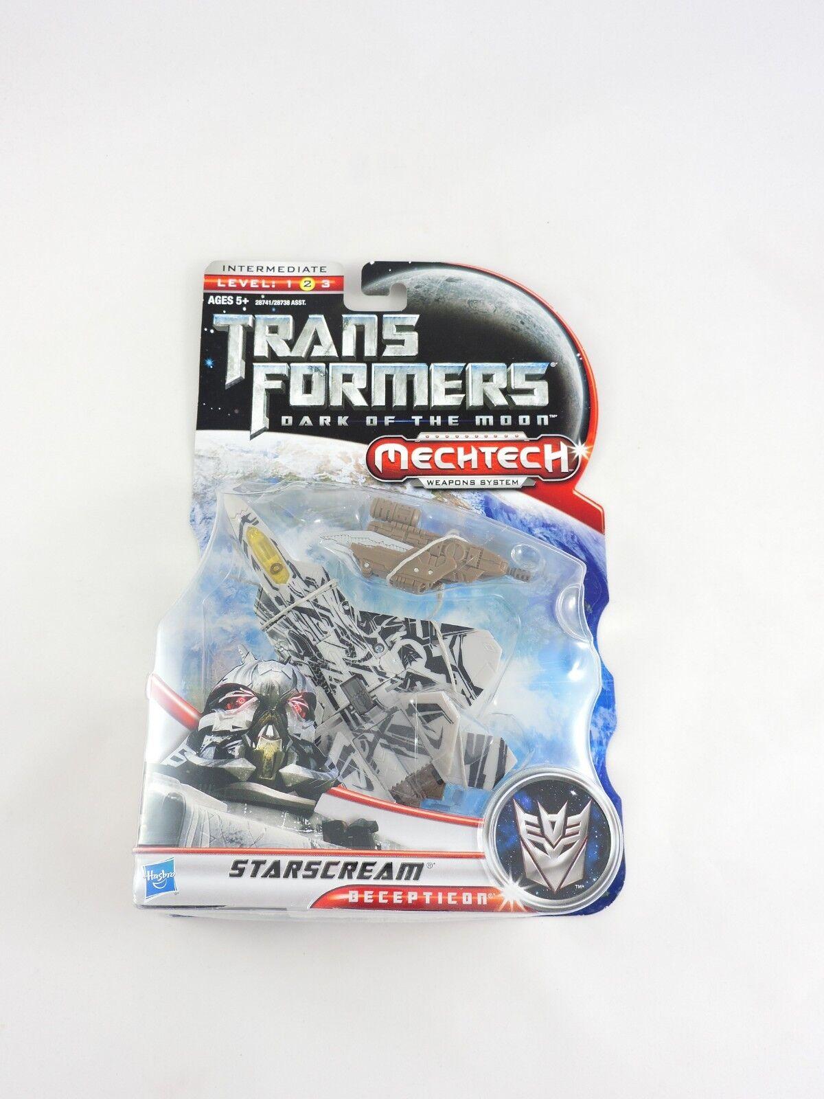 STARSCREAM jet TRANSFORMERS Dark of the Moon 2010 Deluxe Class MOC New DOTM toy