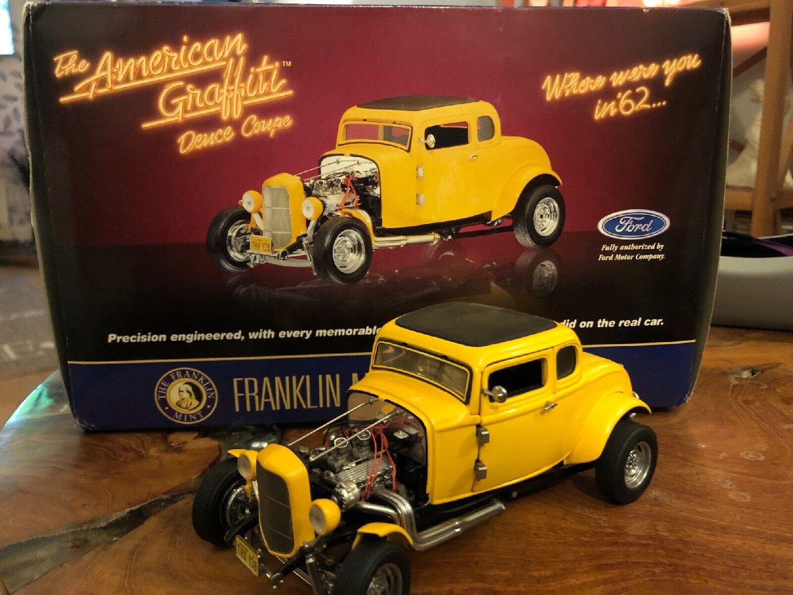 Danbury Franklin Mint American Graffiti 32 Ford 5 Window Deuce Coupe Hot Rod