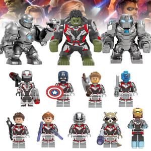 Avengers 4 Minifigure Superheroes Building Blocks Fits Lego End Game Iron Man