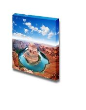 Canvas - Horse Shoe Bend Located in North Rim Grand Canyon Page, Arizona-24 x 24