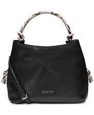 06f828e2f293fe item 7 New Michael Kors Isabel Large Shoulder Bag Convertible black leather  python tote -New Michael Kors Isabel Large Shoulder Bag Convertible black  ...