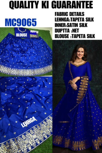 Wedding Wear Designer Lehenga Choli Traditional Indian Lengha Party Wear MC9065