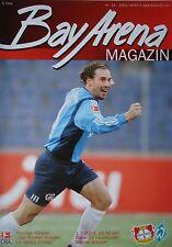 Programm 2002/03 Bayer 04 Leverkusen - Werder Bremen