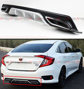 Image Is Loading For 2016 2018 Honda Civic Silver Rear Per