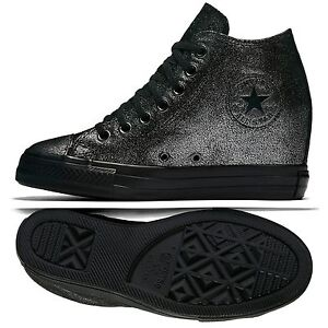 Image is loading Converse-Chuck-Taylor-All-Star-Lux-Mid-Wedge-