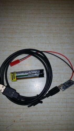 Pour Siku Control Transformation 1x Batterie Lipo Rond mit1200mah avec chargeur et câble USB