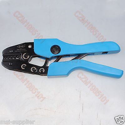 Ratcheting Crimper Tool For Non-insulated Terminals Cable Lugs Crimping Plier