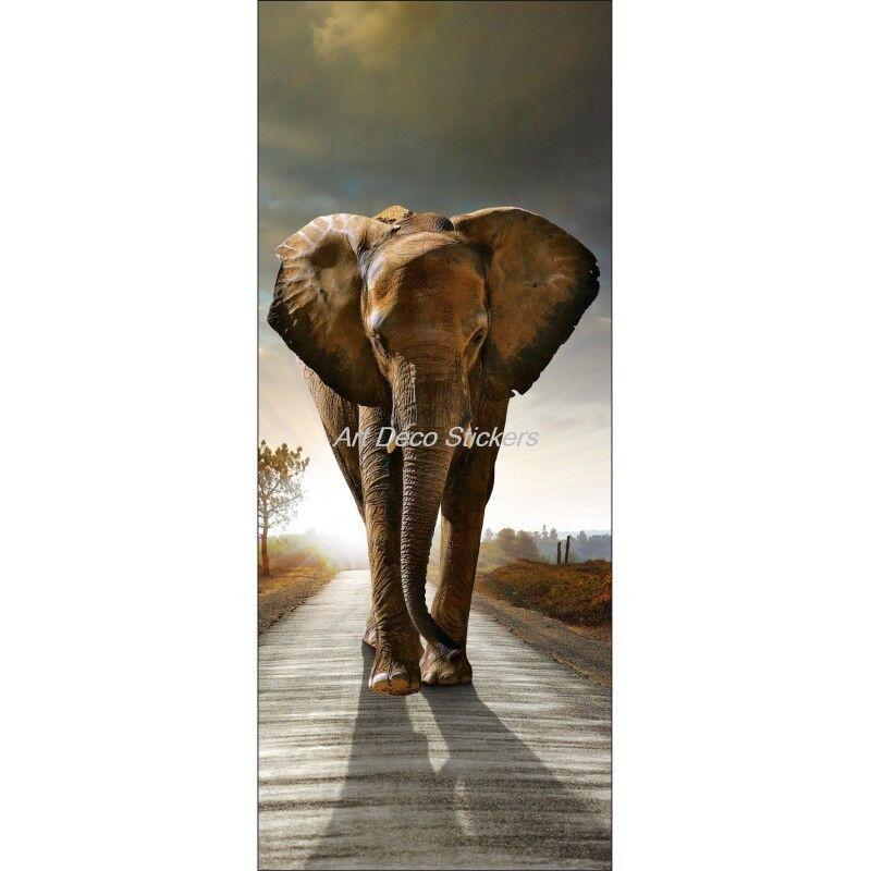 Cartel Póster Formato Puerta Elefante 512 Arte Decoración Pegatinas