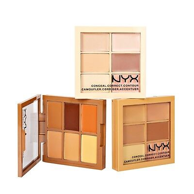 NYX Conceal, Correct, Contour Palette 3CP - Pick Any 1 Color (ALL FREE SHIPPING)