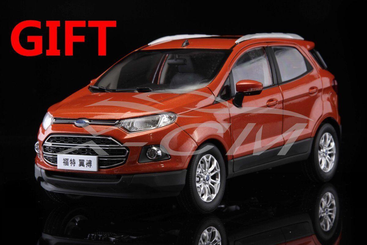 Car Model Ford Ecosport SUV 1 18 (orange) + SMALL GIFT