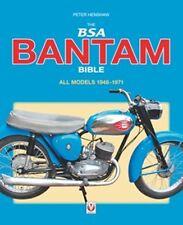The BSA Bantam Bible motorcycle book paper
