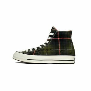 ad66382b708 Converse Chuck Taylor All Star 70 High Top Elevated Plaid Olive ...