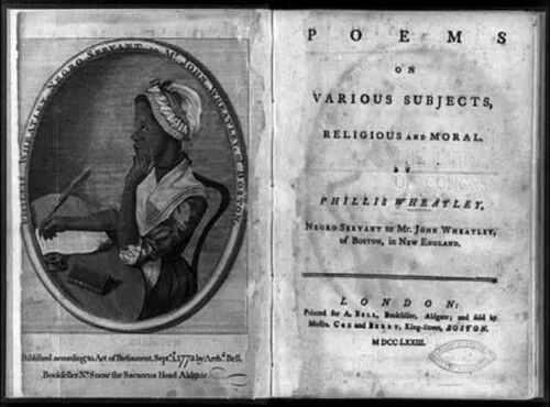 Phyllis Wheatley,1753-1784,African American Poet 1 Photo