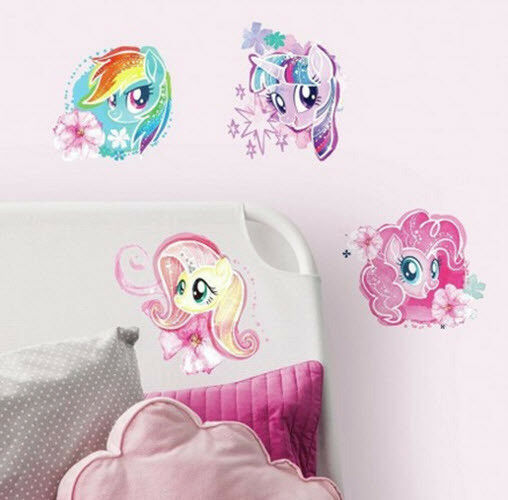 RAINBOW DASH My Little Pony Decal Removable WALL STICKER Home Decor Art Bedroom