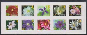 Guernesey-2004-Clematite-Fleurs-Ensemble-S-Un-Sg-1017-26