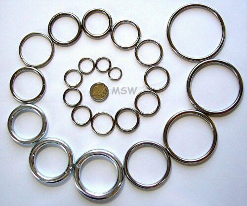 10 Rondelles 25 X 3,5 mm Soudé fer nickelée
